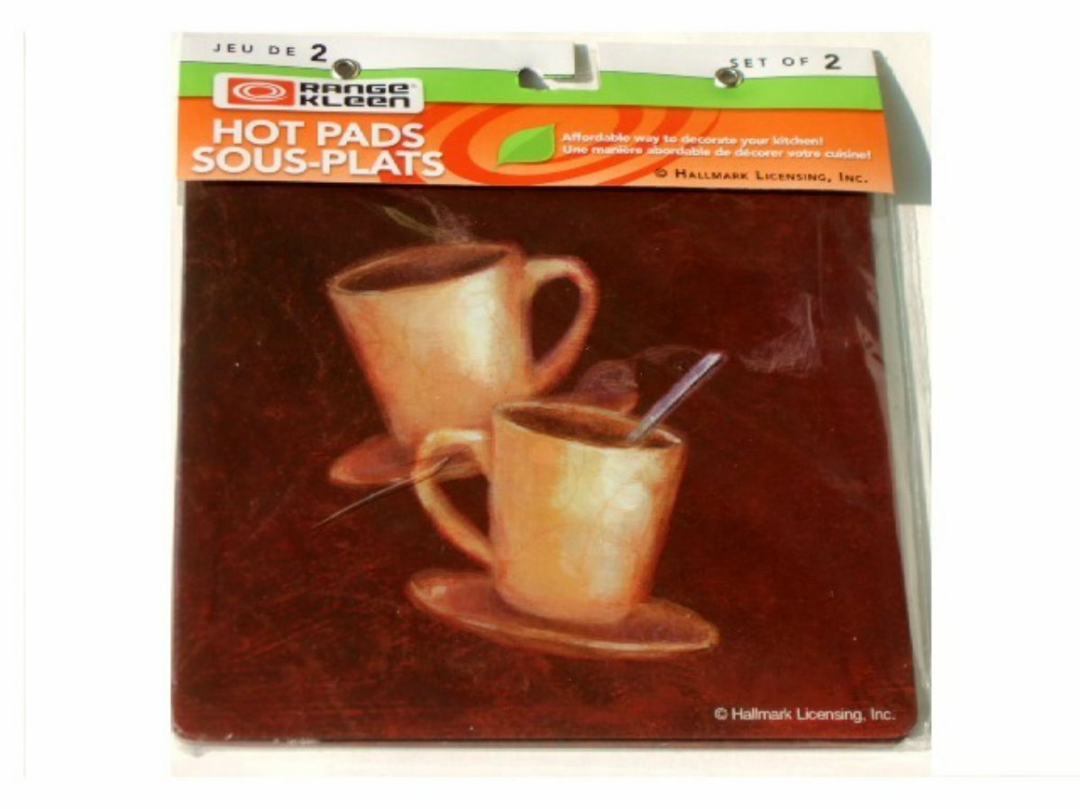 Coffee Cups Metal Hot Pads
