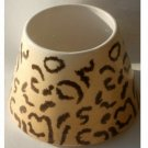 Home Interiors Animal Print Candle Shade Topper