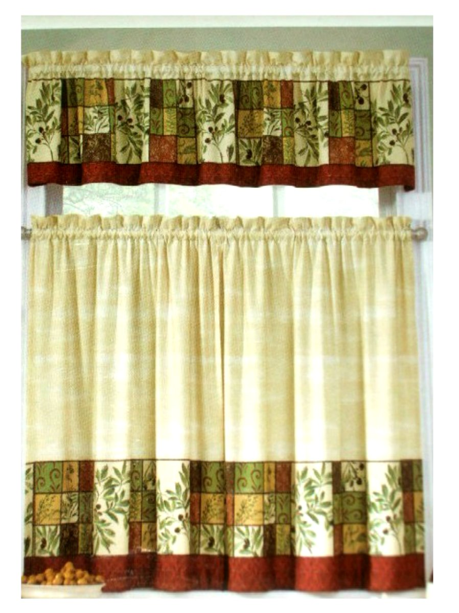 The Miracle Tuscan Curtains Kitchen