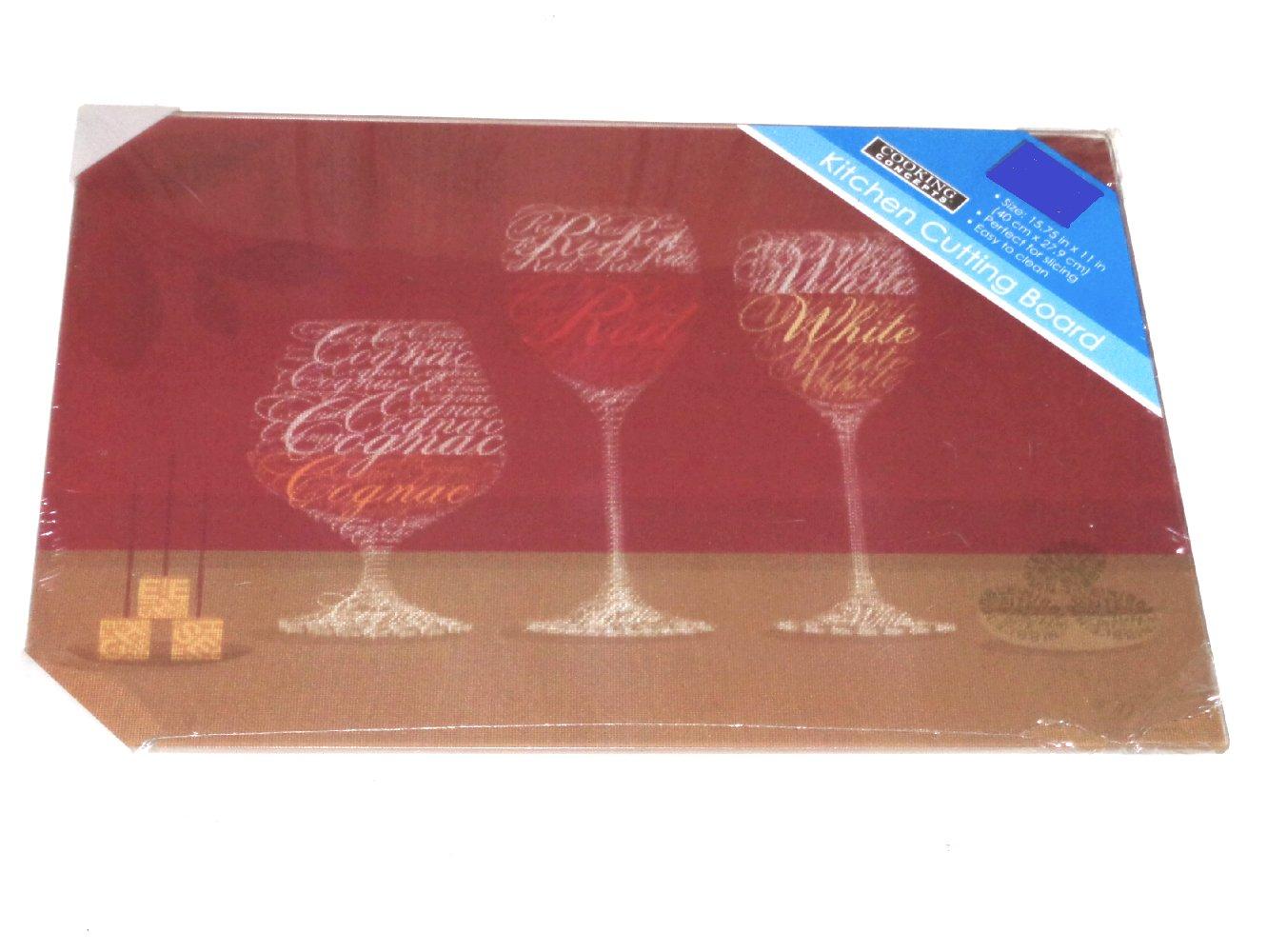 Tuscan Wine Themed Kitchen Cutting Board