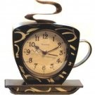 Coffee Cup Kitchen Wall Clock