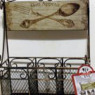 Bon Appetit Flatware Caddy Silverware Utensil Holder