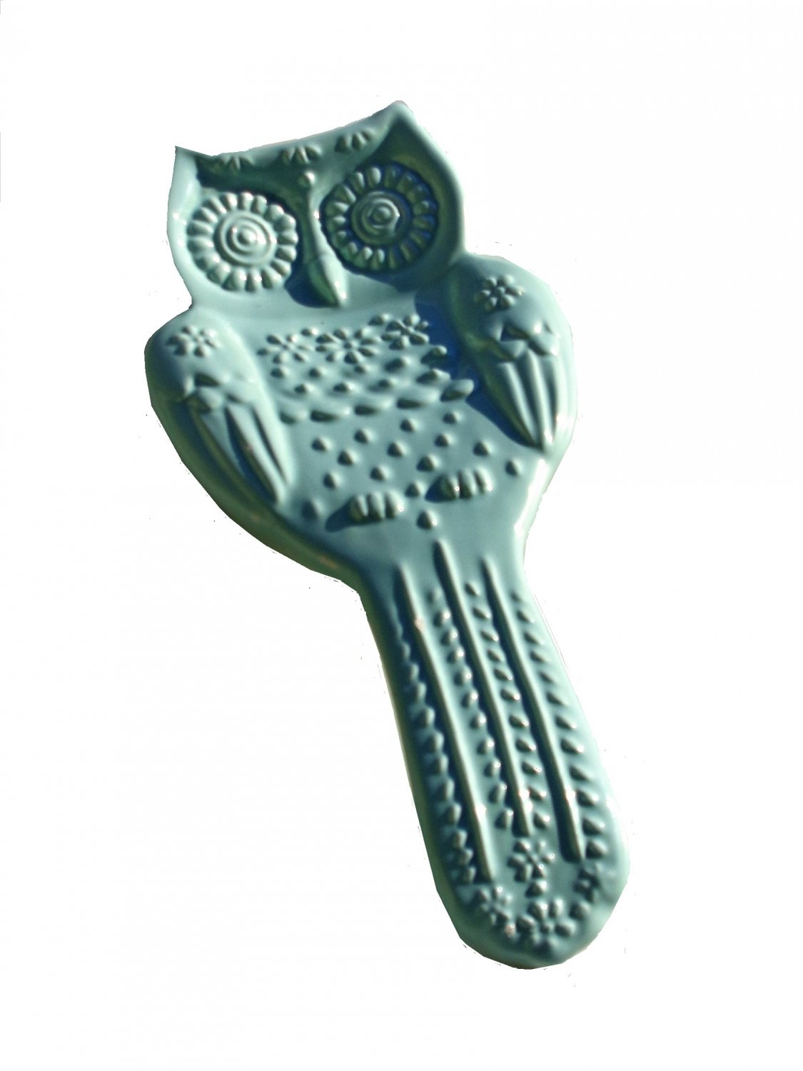 Owl Ceramic Spoon Rest American Atelier