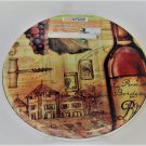 Wine Grapes Stove Burner Covers