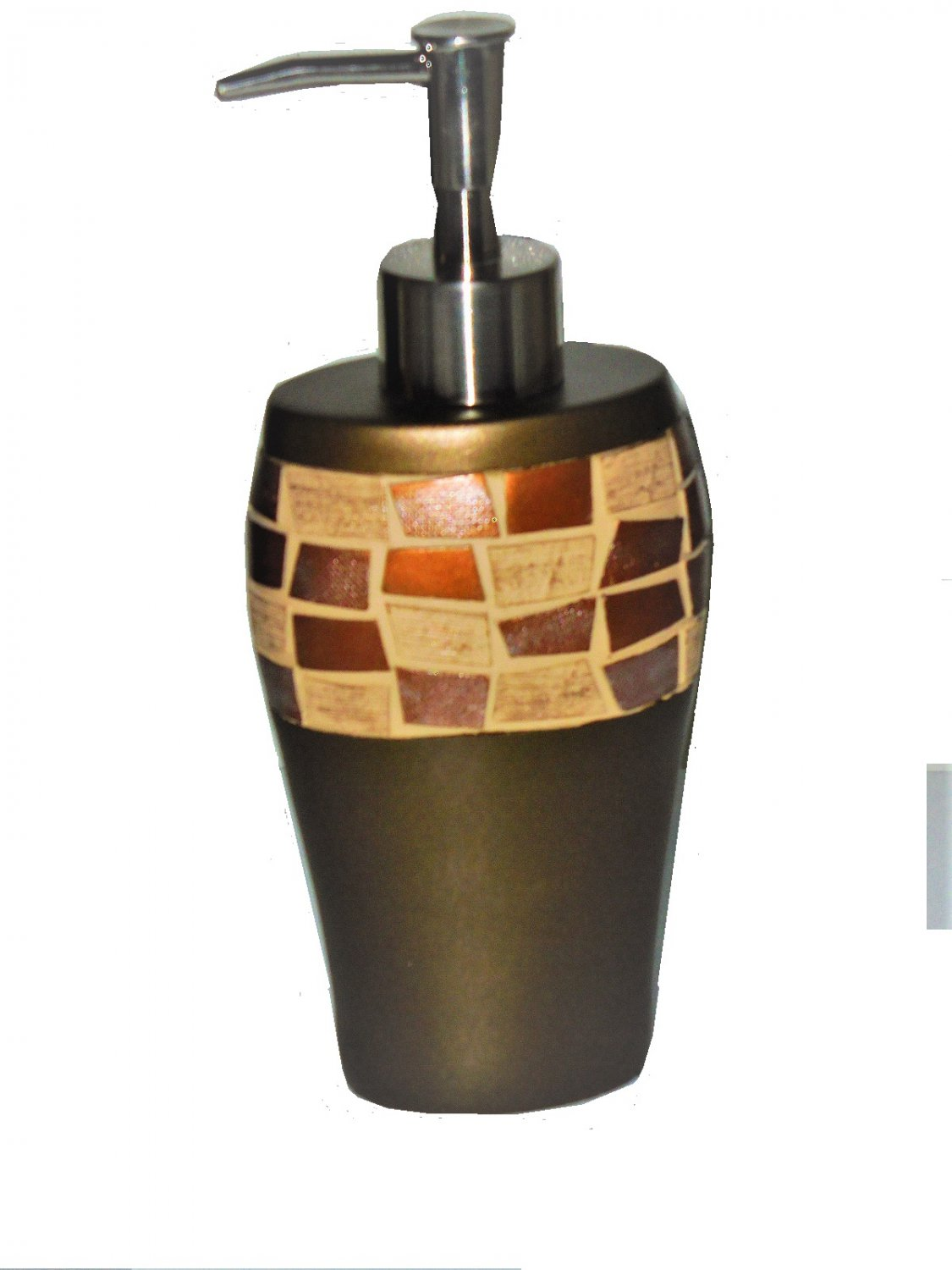 Mosaic Stone Bronze Lotion Pump