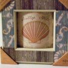 Nautical Seashell Wall Art Arched