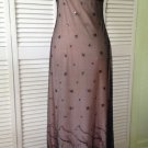 NEW Sue Wong Embellished Black Overlay/Nude Dress (Size Small) - MSRP $307.00!
