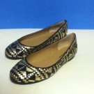 NEW Authentic REBECCA MINKOFF UMA WOVEN LEATHER BALLET FLATS (size 6.5)
