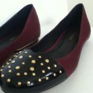 NEW Authentic REBECCA MINKOFF MAB STUDDED CUTOUT BALLET FLATS (size 8.5)