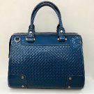 Todd Cowhide Leather Tote LH647 Blue