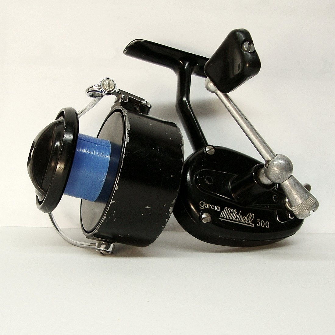 Vintage garcia mitchell fishing reel 300 made in france for Mitchell 300 fishing reel