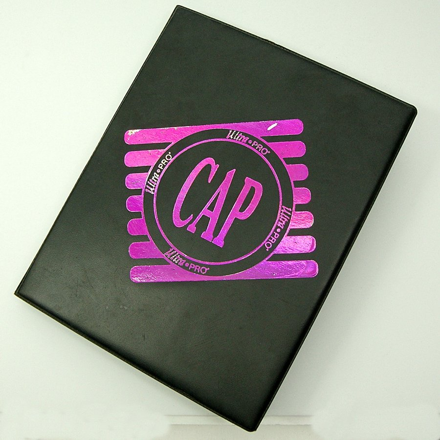 Ultra Pro Cap Folder Pogs Vintage Mid 1990s Collectors Choice 128 Caps
