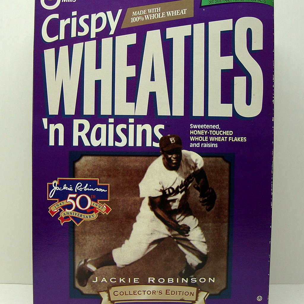 Wheaties Jackie Robinson Collector's Edition 1997 Unopened Cereal Box