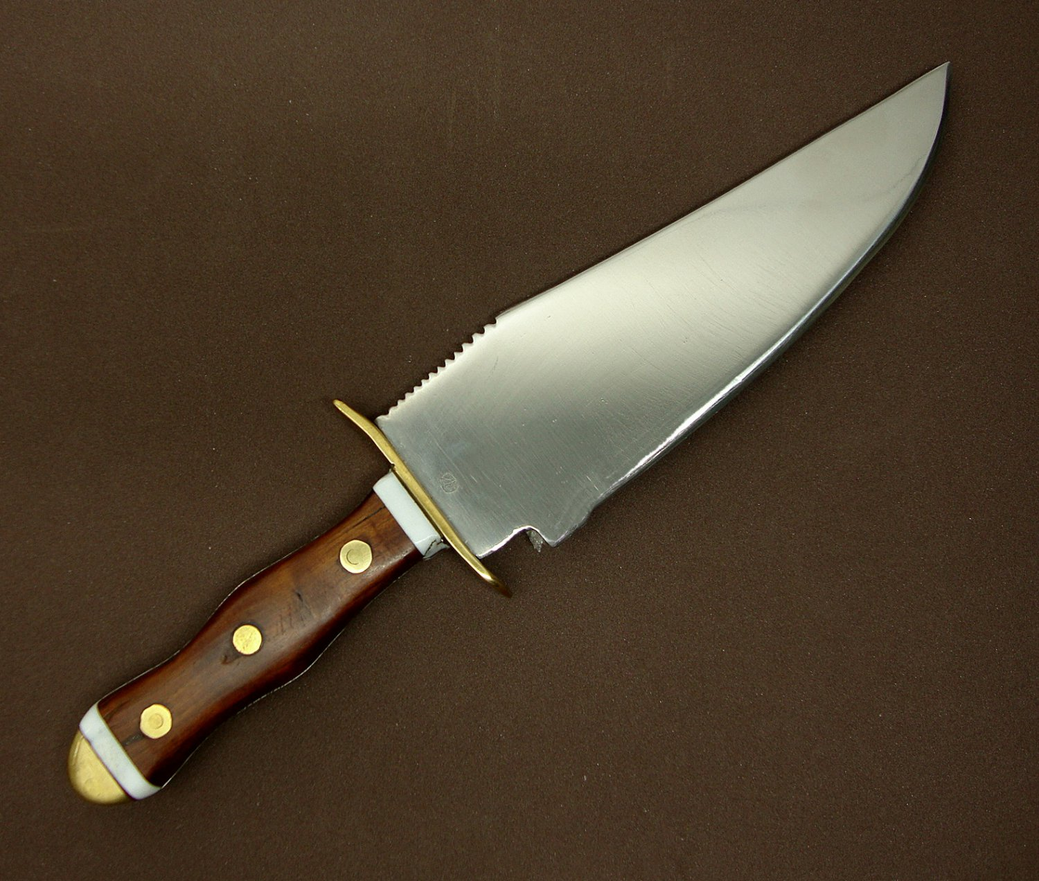 Indian Bowie Hunting Knife, Blade Type 19th-century American Pioneer