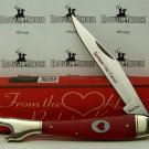 From the Heart Pocket Knife RR Large Leg Folder No.rr1123