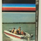 1978 Evinrude Owner's-Operator's Manual for V-4 Models