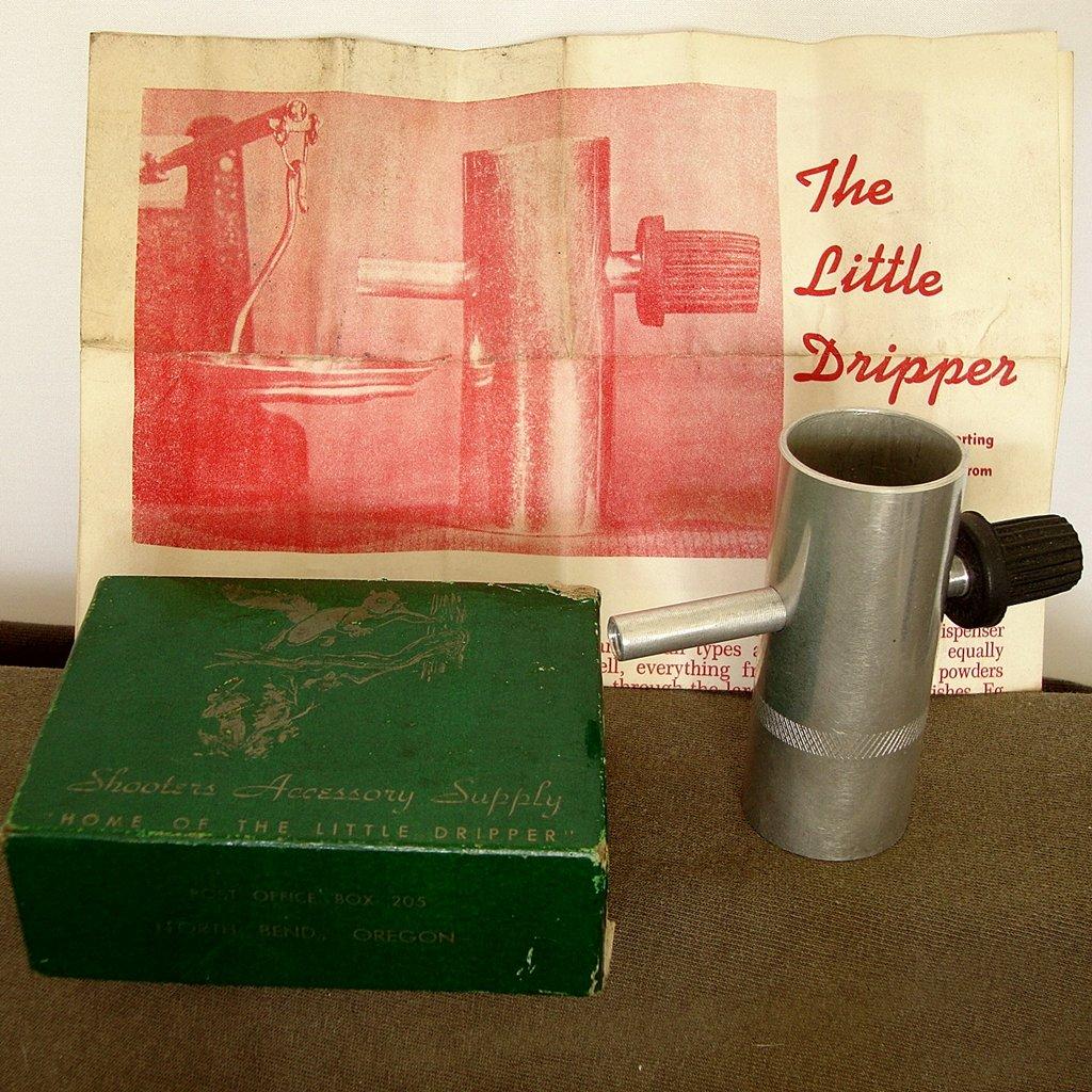 """SAS Powder Trickler """"The Little Dripper Vintage 1970s"""