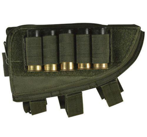 Butt Stock Right Handed Cheek Rest - Shotgun Shell Holder