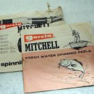 Garcia Mitchell Manuals, Parts List 300DL