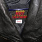 Women Hot Leathers Black Motorcycle Jacket (1980s-1990s)