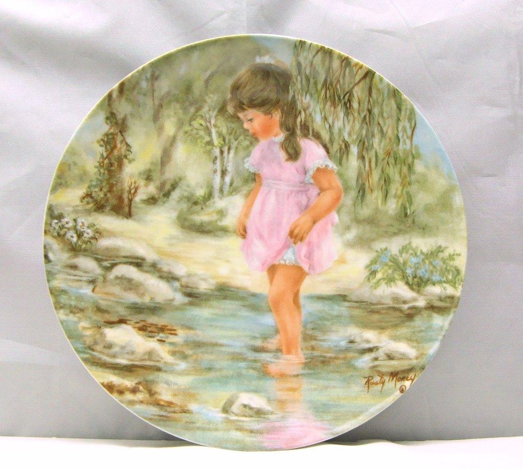 "Lisa's Creek Plate by Rusty Money ""Seems Like Yesterday"""