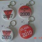 New Handmade Keychain Class of  2008, 2009, 2010, 2011