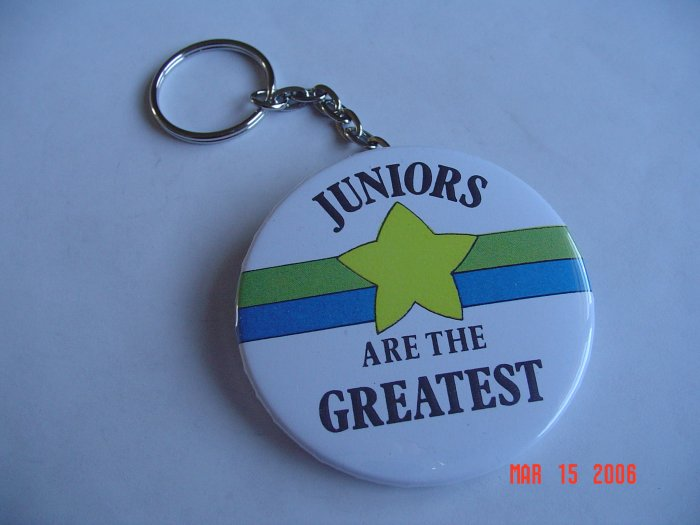 Juniors are the Greatest Keychain High School Class Sports