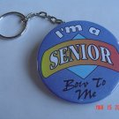 I'm a Senior Bow to Me Keychain School Graduation Women Teens