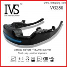 52inch video glasses player mobile theatre, 4G memory, tf card up to 32G, free DHL shipping