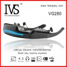 52inch video glasses monitor eyewear, 4G memory, tf card up to 32G, free DHL shipping