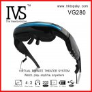 52inch video glasses player, 4G memory, tf card up to 32G, free DHL shipping