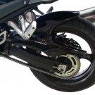 Suzuki Bandit GSF1250 / GSX1250FA (07-12) Rear Hugger / Rear Fender: Black 070400B