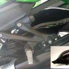 Kawasaki ZZR1400 / ZX14 (06-12) Hugger: Black 073800B