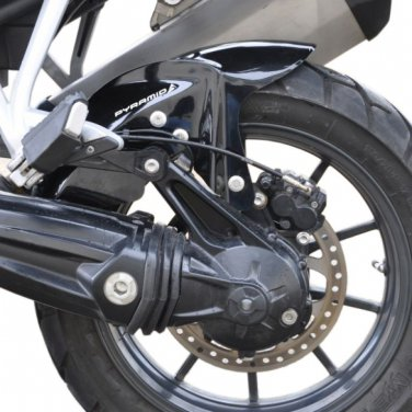 Triumph Explorer 1200 XC Hugger: Black 076160B