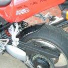 Triumph Daytona / 509 / 595 / 955i Hugger: Black 07602A