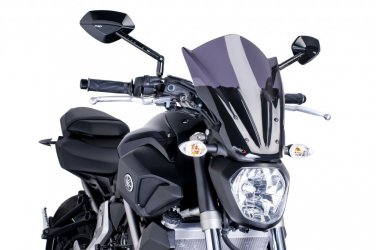 Yamaha MT07 Touring Screen: Smoke 420093F