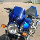 Bugspoiler - Universal Motorcycle Screen for Naked Bikes: Blue 04802C