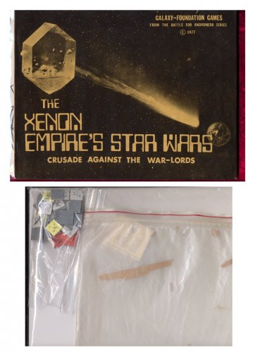 THE XENON EMPIRE'S STAR WARS - Crusade Against the War Lords GFG