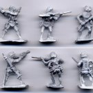 John Carter - Warlord of Mars - 25mm miniature metal figures (3)