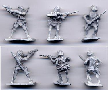 John Carter - Warlord of Mars - 25mm miniature metal figures (3)