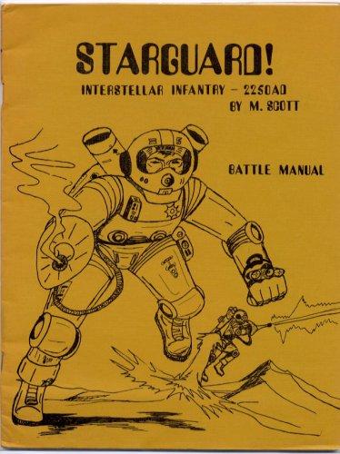 STARGUARD! - Battle Manual - 2250AD - M. Scott - 1974 McEwan Miniatures