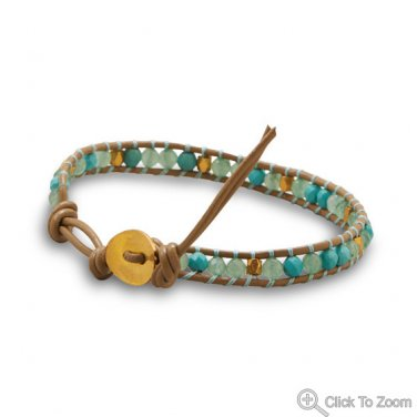 Leather Fashion Bracelet