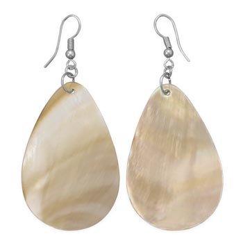 Pear Shape Shell Fashion Earrings