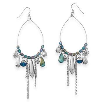 Pear Shape Drop Fashion Earrings