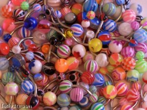 100 Wholesale Belly Bars