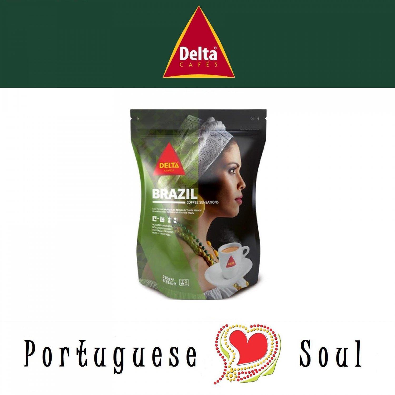 DELTA Roasted Ground Coffee Brazil 250g