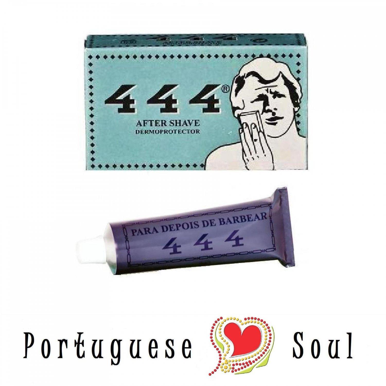 1X 444 Alum Potassium Block + 1X 444 Balm Gel Aftershave | Men Skin