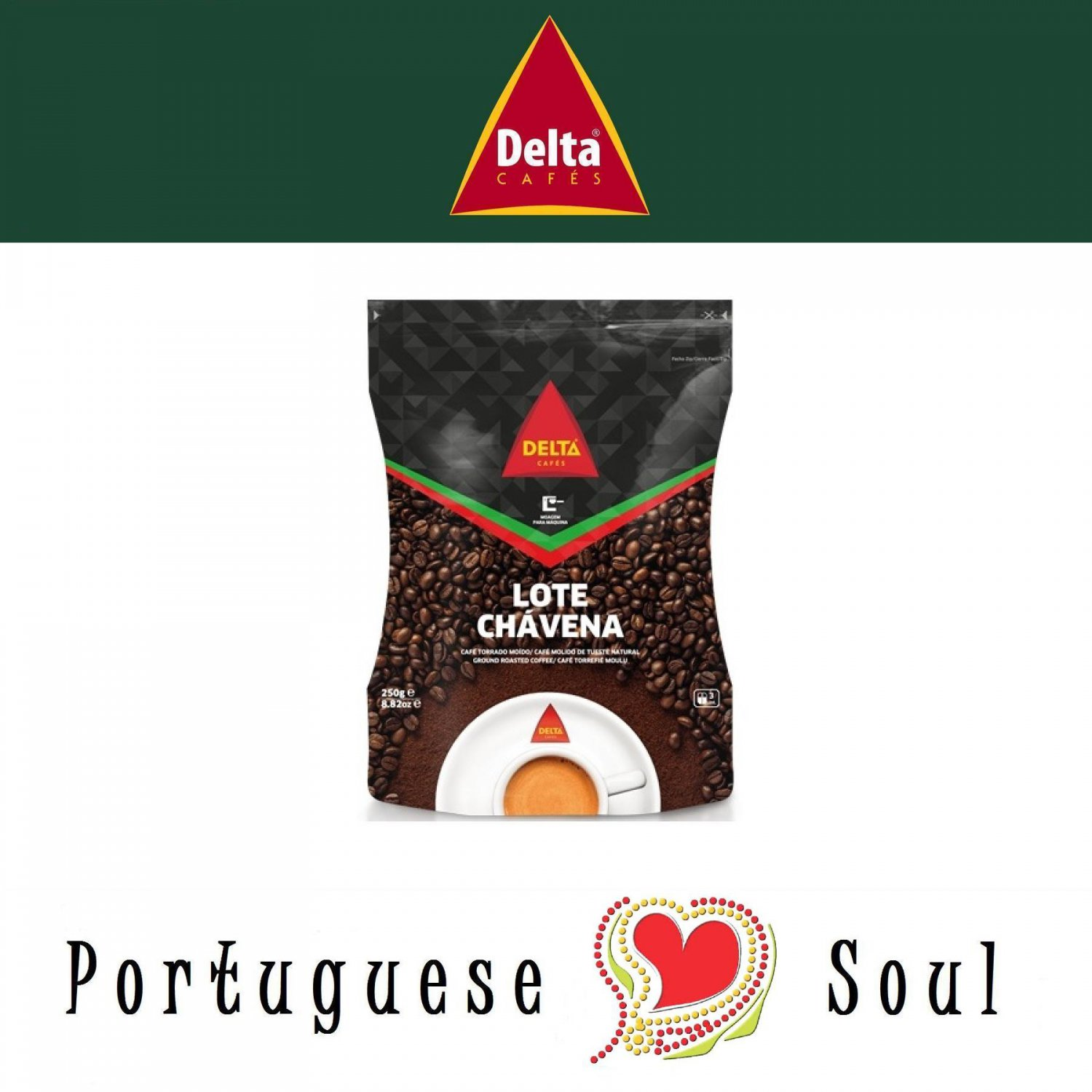 DELTA Roasted Coffee 250g | Whole Roasted Beans