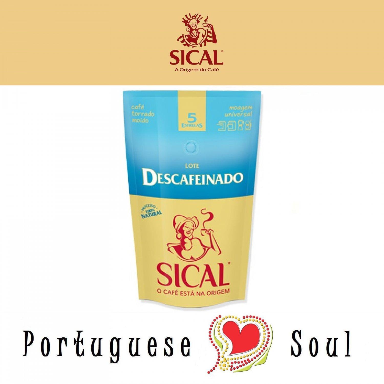 SICAL Roasted Ground Coffee Decaffeinated 220g