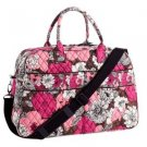 NWT Vera Bradley Weekender in Mocha Rouge